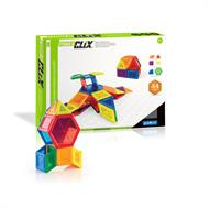 Магнітний конструктор Guidecraft PowerClix Solids, 44 деталі (G9421)