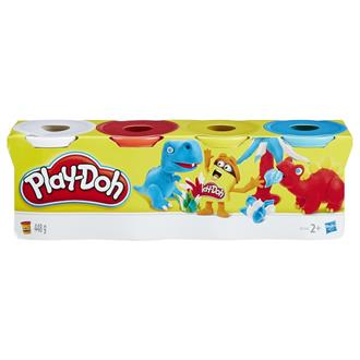 Набор пластилина Hasbro Play-Doh, 4 контейнера, 448 г