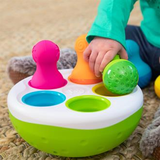 Сортер-балансир Неваляшки Fat Brain Toys Spinny Pins (FA248-1)