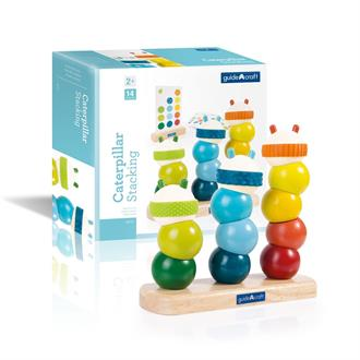 Пирамидка Guidecraft Manipulatives Гусеницы (G6731)