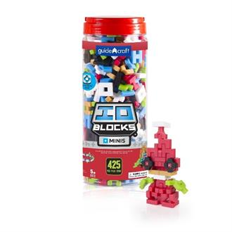 Конструктор Guidecraft IO Blocks Minis, 425 деталей (G9612)